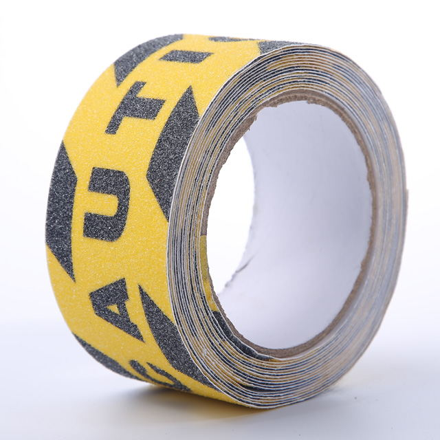 Safety Walk Waterproof Black And Yellow Non Slip Tape