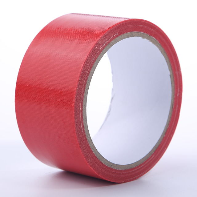 Waterproof Strong Adhesion Red Cloth Polyethylene Duct Tape